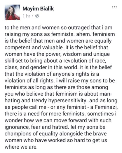 feminismBialik